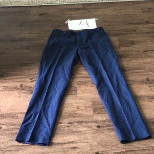 J.Crew Linen Pants - Navy Blue